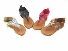 New Infant Toddler Baby Girl'ss Rhinestones Gladiator Sandals Shoes size 5-10