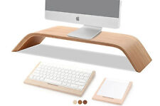 Solid Wood Monitor Stand For iMac/MacBook Air/MacBook/MacBook Por/Dell/Lenovo