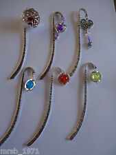 Handmade Bookmarks - Tibetan Silver / Charms / Beads - Large Variety - BNWOT
