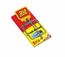 THE BIG CHEESE FRESH BAITED MOUSE MICE TRAP 100% CATCH & KILL RATE