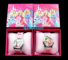 New 5/10/20/30 Pcs Barbie Cartoon Children Watches W/Gift boxes Wholesale