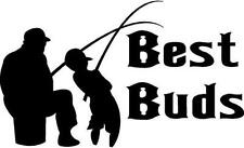 DECAL FI#1/86 BEST BUDS TACKLE BAIT LURES SINKERS BOBBERS LAKES NIGHTCRAWLERS