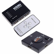 3/5 Port 1080P HDMI Switch Remote Video Switcher Splitter For PS3 HDTV DVD RX