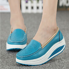 Autumn Women Ladies Fitness Shape Ups Metabolize Toning Sneakers Platform Shoes