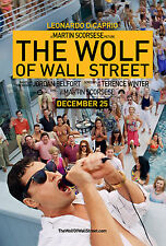 The Wolf Of Wall Street Leonardo DiCaprio Film Movie Art Print/Poster