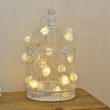 26CM INDOOR BEDROOM HOME WEDDING GIFT DECOR SHABBY CHIC CANDLE HOLDER BIRD CAGE