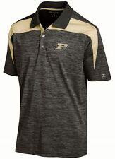 """Purdue Boilermakers NCAA Champion """"Booster"""" Men's Performance Polo Shirt"""