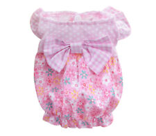 Cat Dog Dress Pet Clothes Vest Clothing for chihuahua teacup yorkie maltese Pink