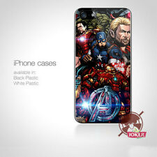 AVENGERS MARVEL COMIC GALAX Logo For iPhone Samsung HTC Ipod Touch Case Cover n8
