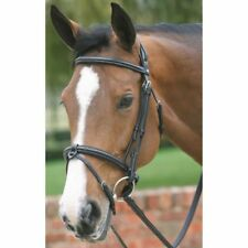 MARK TODD DELUXE BRIDLE WITH CRANK-FLASH NOSEBAND horse padded browband