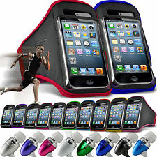 Quality Armband Sports Adjustable Strap Phone Case✔In Ear Headset Headphones