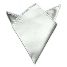 New Men's Fashion Pocket Square Wedding Party Kerchief Solid Color Handkerchief