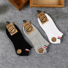 Fashion Mens Sport Cotton Socks Lot Short Crew Ankle Low Cut Casual Socks New