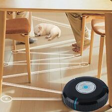 Home Smart Auto Robotic Dust Vacuum Robot Floor Cleaner Mop Sweeper Black Hot FY