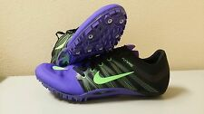NIKE ZOOM JA FLY 2 TRACK AND FIELD SHOES 705373-035 Purple Black NEW SIZES