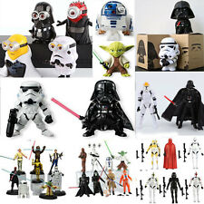 Star Wars Action Figure Collection Toy PVC Darth Vader Stormtrooper Yoda Lot