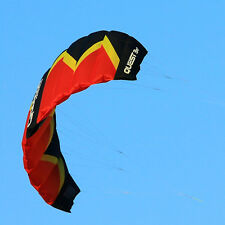 3sqm Dual Line Traction Kite Trainer Kite for Kitesurfing Landboading Sports