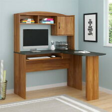 Corner Computer Desk L-Shaped Workstation Home Office Student Furniture NEW