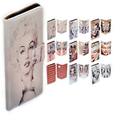 For HTC X10 U11 Play Ultra Desire 530 Marilyn Monroe Print Wallet Phone Cover