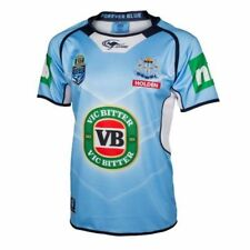 NSW Blues State of Origin 2017 Mens Premium Jersey BNWT NRL Rugby Clothing