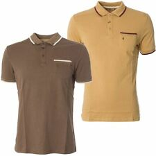 Gabicci Vintage Mens Polo Shirt Short Sleeved Knitwear Collared Top Sizes S-2XL