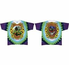Grateful Dead Tie-Dye T-shirt - Grateful Dead Terrapin Station Turtles with Trai