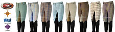 ELIXIR 4-WAY STRETCH BREECH CHECKS FULLSEAT / STICKYBUM VARIOUS COLORS NEW