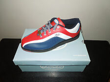 New! Linds PATRIOT Mens Bowling Shoes REd/White/Blue LH RH sz 8-11