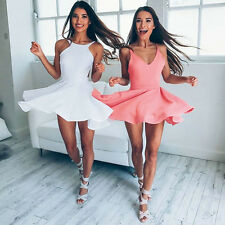 Fashion Sexy Women Skirt Summer Prom Party Cocktail Clubwear Short Mini Dress G