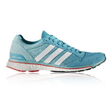 Adidas Adizero Adios Womens Blue Running Sports Shoes Trainers Pumps