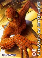 Spider-Man (DVD, 2002, 2-Disc Set) Tobey Maguire, Willem Dafoe, Sam Raimi
