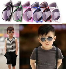 Child Cool Children Boys Girls Kids Plastic Frame Sunglasses Goggles Eyewear BX