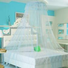 Elegant Lace Edge Round Netting Bed Canopy Mosquito Net Bedroom Decor 3 Color