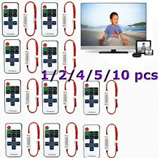 1-10PCS 12V RF Wireless Remote Switch Controller Dimmer for LED Strip Light  FY