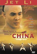 Once Upon a Time in China (DVD, 2001) Jet Li, Yuen Biao, Rosamund Kwan