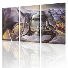 Alonline Art - CANVAS (Rolled) The Endless Enigma Salvador Dali 3 Panels