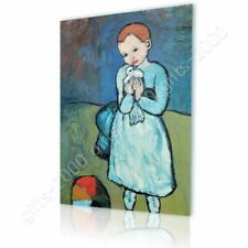 Alonline Art - CANVAS (Rolled) Child With Dove Pablo Picasso Canvas For Kitchen