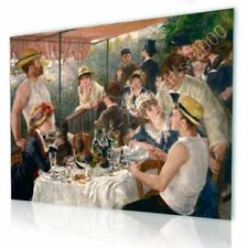CANVAS (Rolled) Luncheon Of The Boating Party Auguste Renoir Artwork Paintings