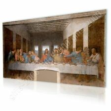 CANVAS (Rolled) The Last Supper Leonardo Da Vinci Artwork Paintings Wall Decor