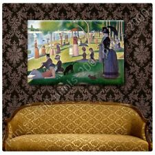 Alonline Art - POSTER Or STICKER Decals Vinyl Sunday Afternoon Georges Seurat