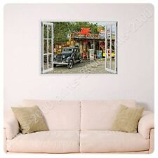 POSTER Or STICKER Decals Vinyl Arizona Route 66 Fake 3D Window Art Posters