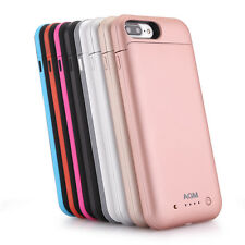 Portable iPhone 7 Plus 7000mAh Power Pack External Battery Charger Charging Case