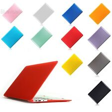 "New Good Crystal Hard Shell Case Cover For Mac Book Pro 15"" 11 Colors BLLT"