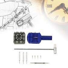 Fabulous 6 /11 PCS Watch Band Strap Link Remover Watches Repair Tool Kit Set AL