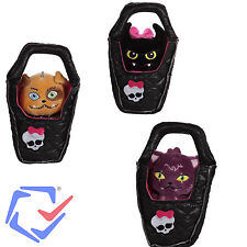 Monster High Plushie Pets Pet Bat and Cat A Must Have Collection For All Fans !!