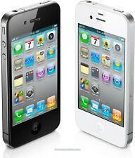 Apple iPhone 4s 8GB 16GB 32GB 64GB AT&T Only Smartphone Black & White