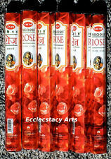 Hem Precious Rose Incense Sticks 20-40-60-80-100-120 Incense U Pick Amount {:-