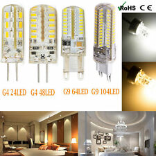 G4/G9 3W/5W/6W/10W 12V Led Bulbs Day/Warm White Led Lights Replace Halogen Lamp