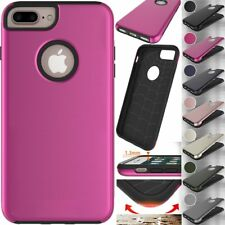 Hybrid Armor Protective Shockproof Case Cover For Apple iPhone 5S 6 6S 7 Plus SE