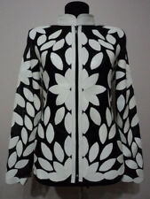White Leather Leaf Jacket for Women All Colors All Regular Sizes Available (D2)